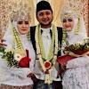 Viral Pengantin Laki-Laki Nikahi 2 Perempuan Cantik Sekaligus, Begini Kisahnya