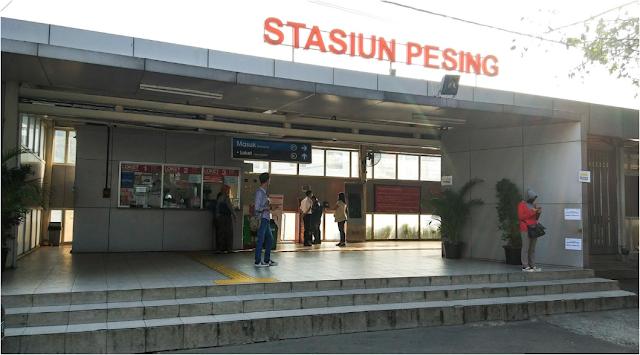 Stasiun Pesing - Jadwal KRL Pesing Terbaru