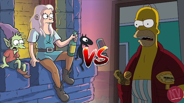 Desencanto vs Los Simpson