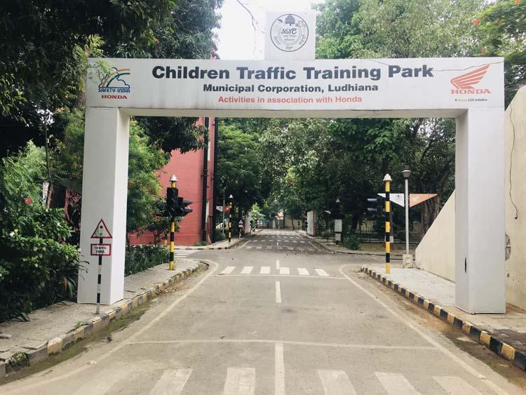 Children's Traffic Training Park