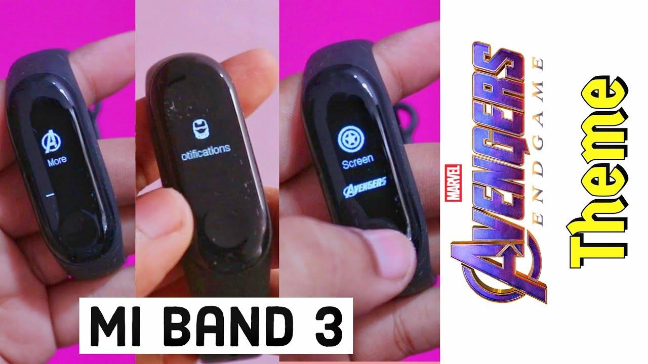Mi Band 3 : Download & Install Avengers Theme,Full Detalis