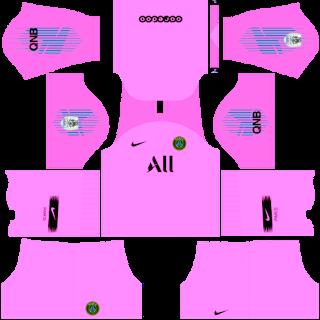 PSG GK Third Kits DLS 19
