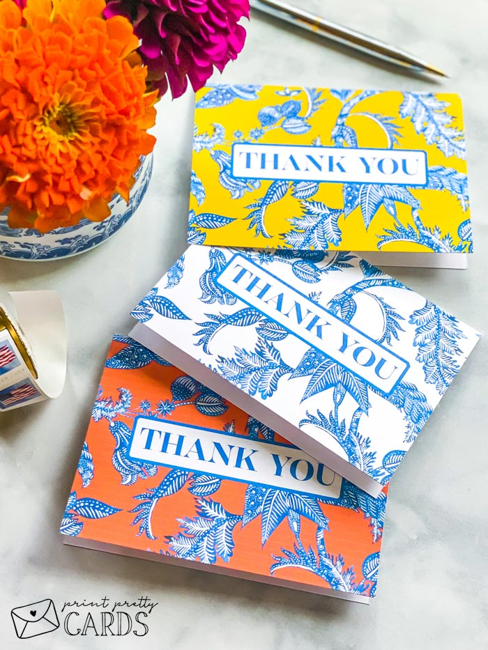 Free Printable Thank You Note Cards