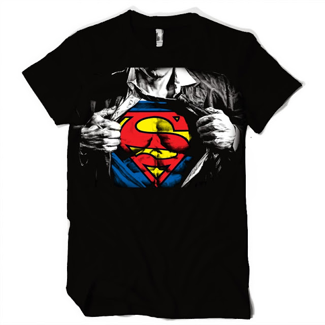 superman tshirt design