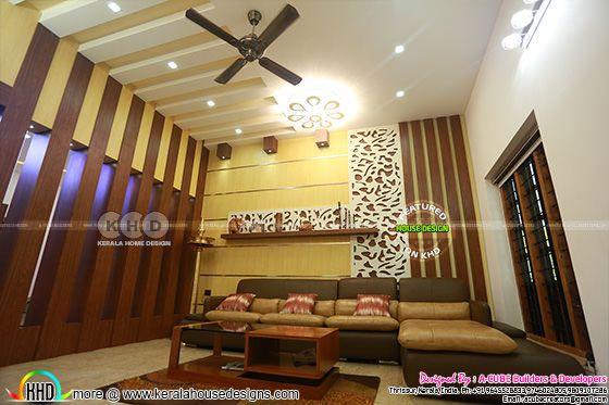 Living room interior 2019