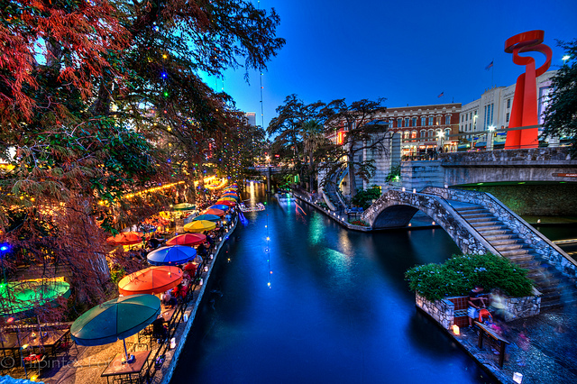 The River walk San Antonio