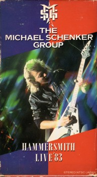 VHS Cover (front): Hammersmith Live '83 / The Michael Schenker Group