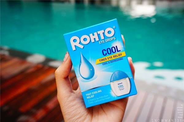 ROHTO Eye Drops for Beautiful and Moist Eyes