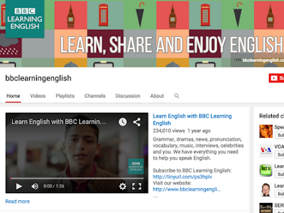 5 Educational YouTube Channels for Learning English