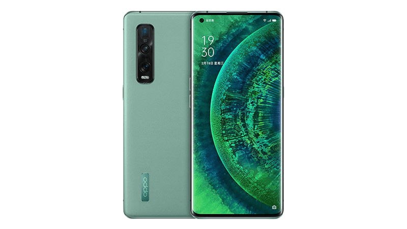 OPPO announces Vegan Leather Green Find X2 Pro in China
