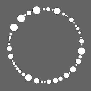 円周上のサークル・パッキング