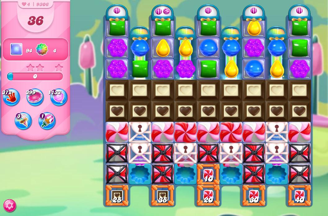 Candy Crush Saga level 9306