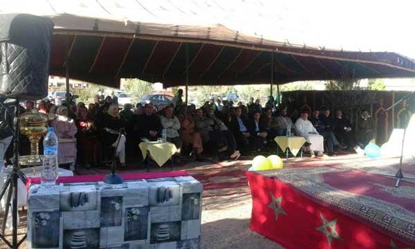 مدرسة الرياض بأيت أوريرتحيي حفلا تكريميا لثلاثة أساتذة بمناسبة تقاعدهم