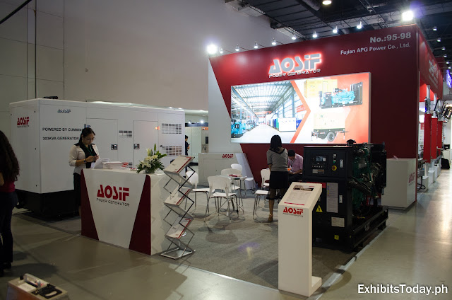 AOSIF exhibit booth