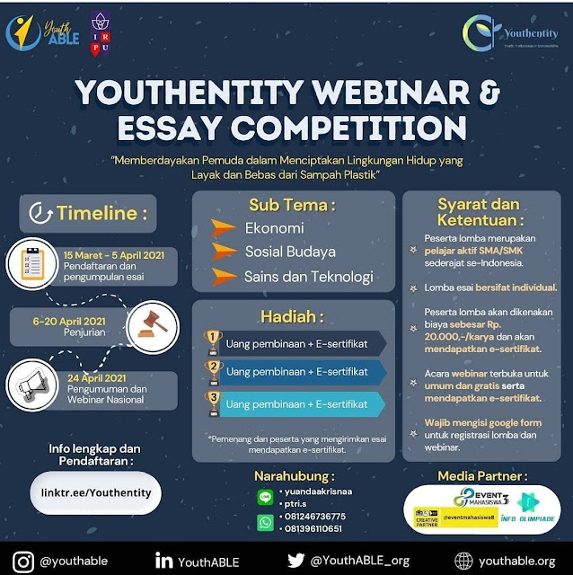 YOUthentity WEBINAR & ESSAY COMPETITION
