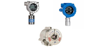 flame detector and fixed gas detector for industrial safety