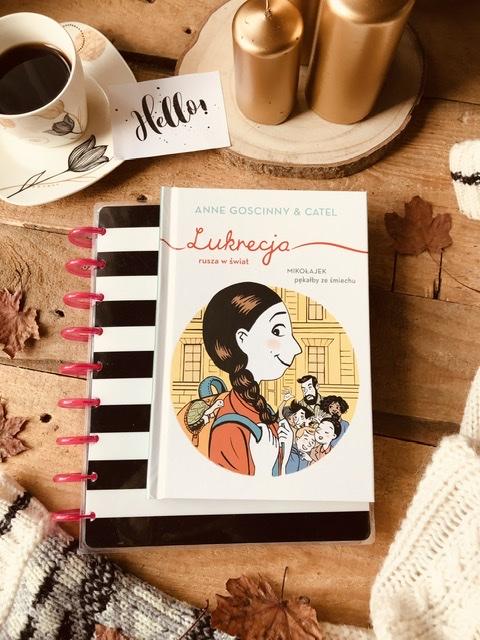 Anne Goscinny, Catel,  Lukrecja rusza w świat