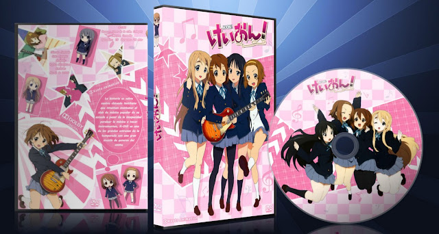 K-ON! | Cover DVD |