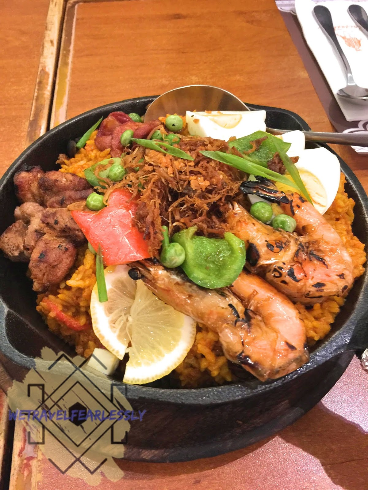 Paella Filipino (PHP450) - Crisostomo in Eastwood City, Libis - WTF Review