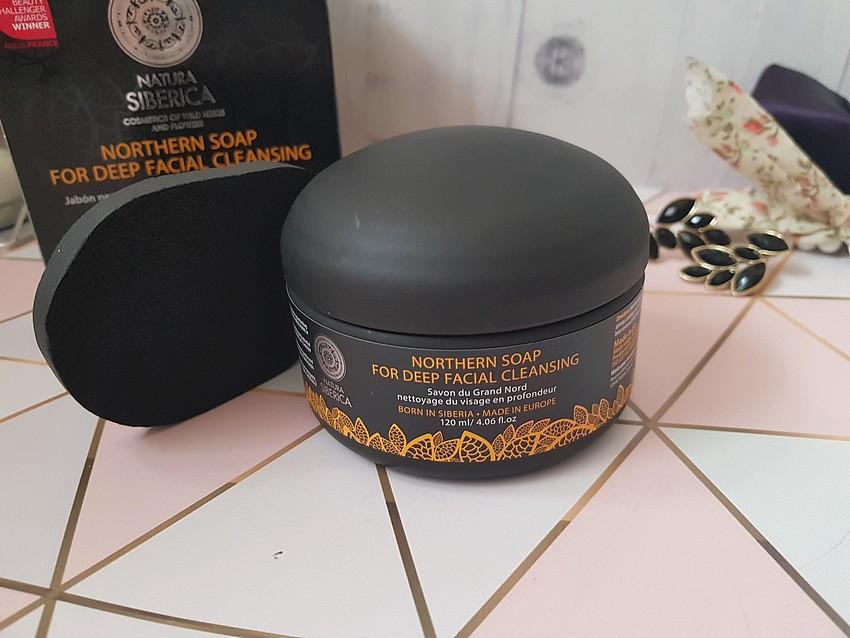 oczyszczające czarn mydło natura siberica