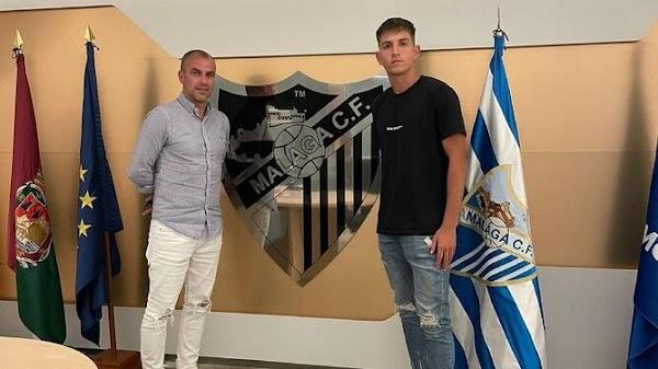 Oficial: El Málaga renueva a Mati Barboza hasta 2023