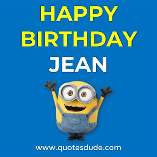 Happy Birthday Jean Wishes