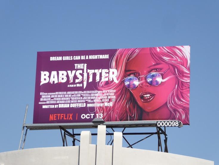 Babysitter film billboard