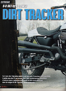 sportster 883 r dirt tracker by hd pavia