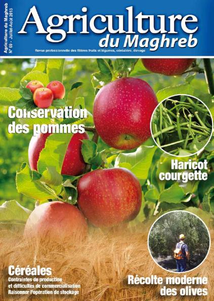 المجلة الزراعية المغربية العدد 69     Agriculture du maghreb