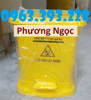 Thùng rác y tế, thùng đựng rác y tế đạp chân, thùng rác đạp chân 19c7ef29e24704195d56