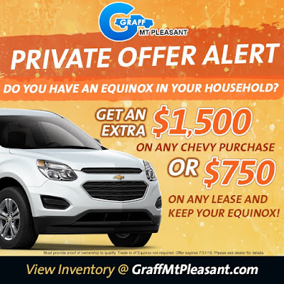 Equinox Private Offer at Graff Mt. Pleasant