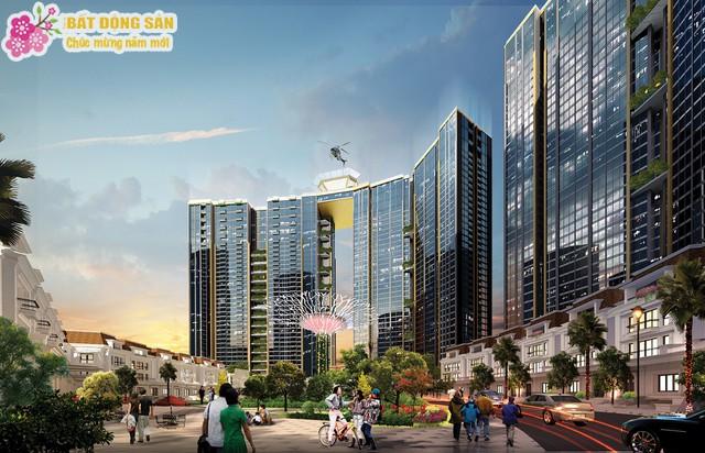 Phối cảnh dự án Sunshine City