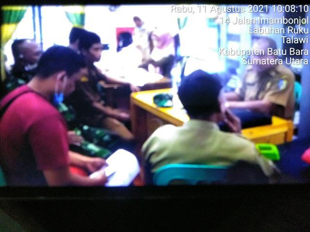 Bangun Sinergitas, Personel Jajaran Kodim 0208/Asahan Laksanakan Komsos Dengan Aparatur Desa Diwialayah Binaan