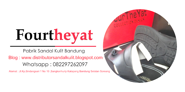 Distributor Grosir Sandal Kulit Asli Cibaduyut Bandung