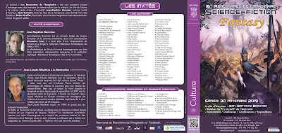 Programme des 16e Rencontres de l'Imaginaire de Sèvres (1)