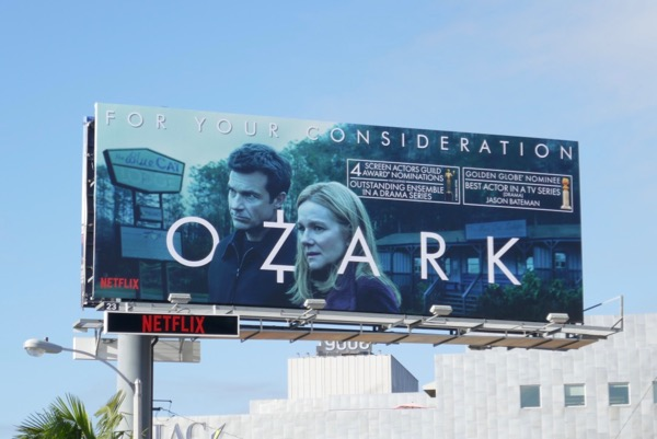 Ozark season 2 SAG Awards Globe nominee billboard