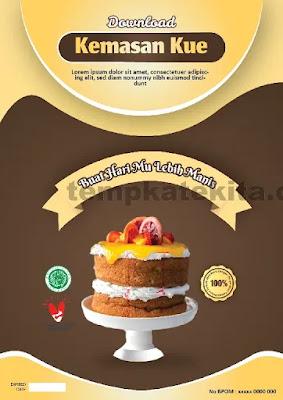Download Desain Kemasan Produk Kue Coreldraw Dan Photoshop Gratis