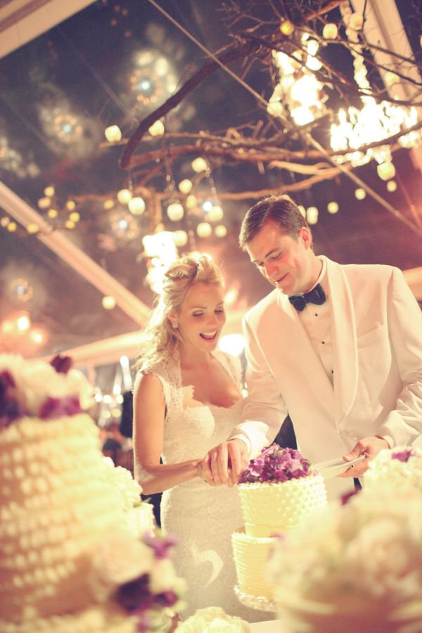 Rustic+classic+traditional+black+tie+platinum+wedding+bride+groom+rowing+country+club+purple+modern+succulents+succulent+centerpieces+lighting+lights+Gideon+Photography+26 - Black Tie & Cowboy Boots Required