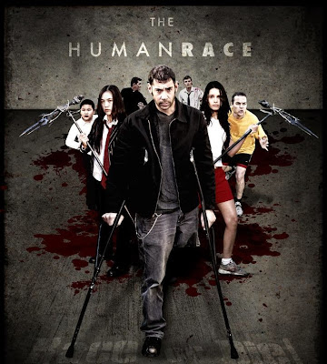 Poster Of Hollywood Film The Human Race (2013) In 300MB Compressed Size PC Movie Free Download At worldfree4u.com