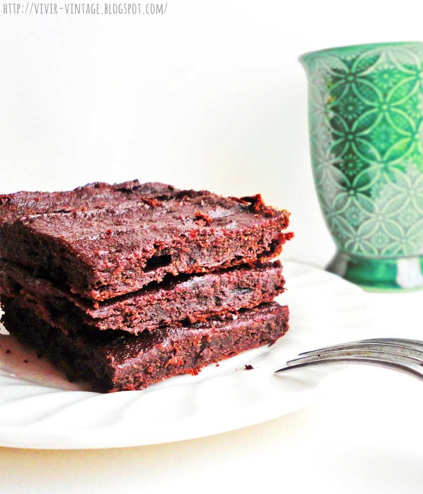 Brownie sin azúcar, sin harina, sin manteca, sin gluten, super sano y natural