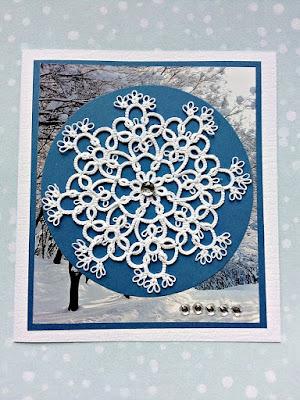 frywolitkowa śnieżynka Elżusi