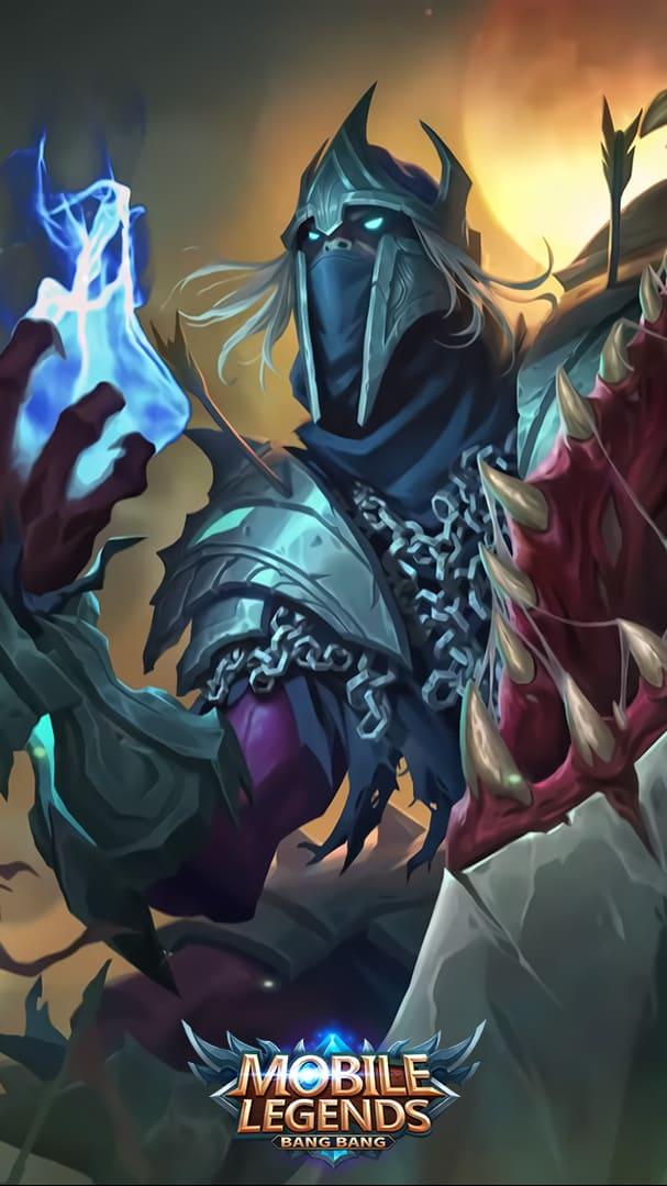 Wallpaper Hanzo Undead King Mobile Legends Full HD for Mobile