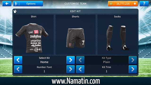 Download Jersey Dream League Soccer Bali United