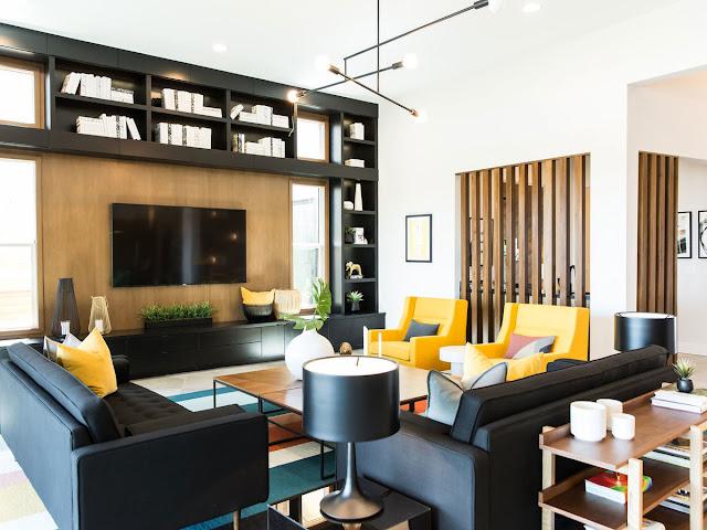 nội thất phòng khách hiện đại 2019