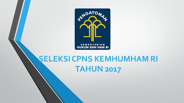 Seleksi CPNS Kemhumham 2017