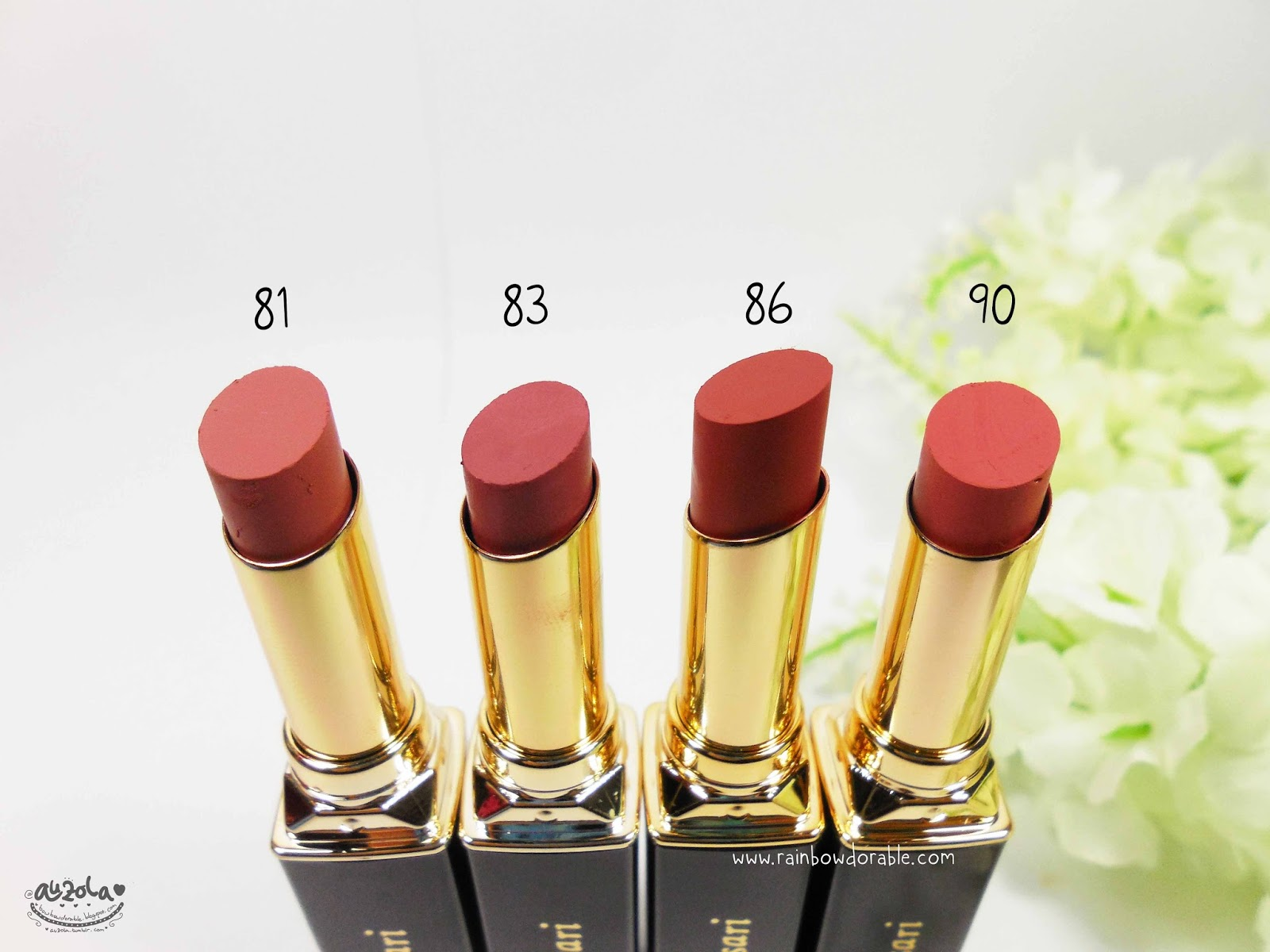 Lipstik Purbasari Matte No 81 Dan 83 Collor Lipstick Color