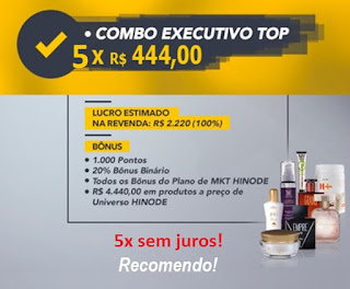Kit Executivo Top Hinode