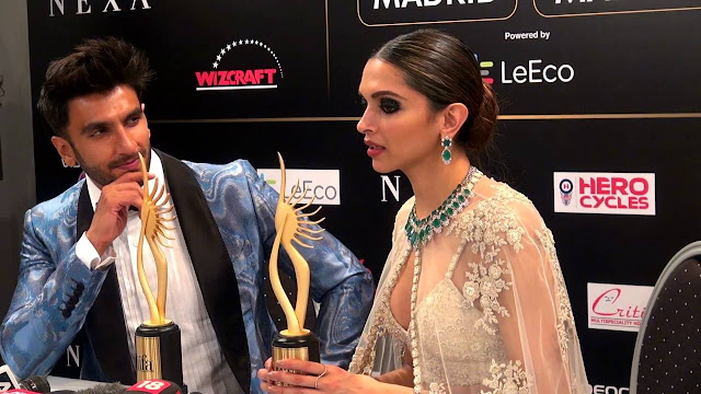 Deepika and Ranveer's Flying Kiss at IIFA Madrid is a Must Watch