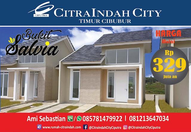 Bukit SALVIA - All New Semi RE Citra Indah City mulai dirilis - Harga Mulai 329 Jtan