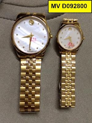 đồng hồ cặp đôi Movado Đ092800